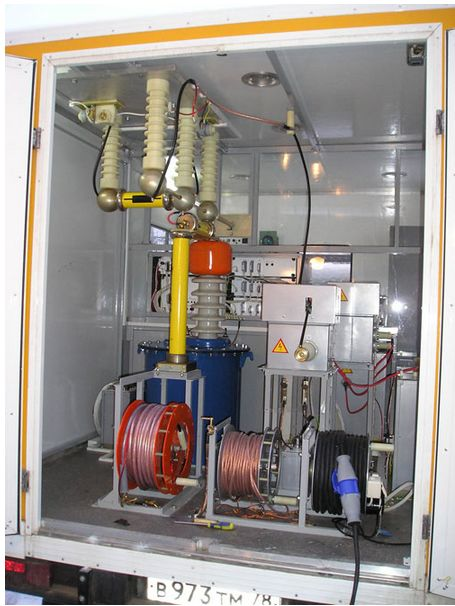 Лаборатория высоковольтных испытаний hiline-лви 35pro