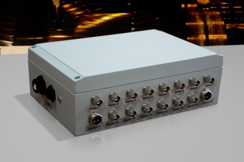 Внешний вид универсального многоканального измерительного блока UMS-16